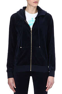 JUICY COUTURE Laurel relaxed velour hoody