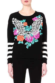JUICY COUTURE Crystal wings jumper