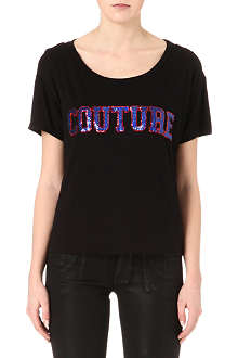 JUICY COUTURE Couture sequinned t-shirt