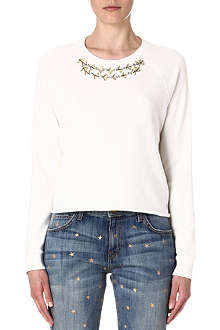 JUICY COUTURE Embellished sweatshirt
