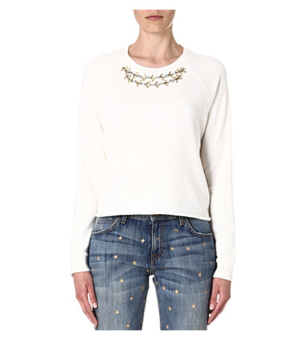 JUICY COUTURE Embellished sweatshirt (Angel