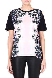 JUICY COUTURE Graphic-print boyfriend t-shirt