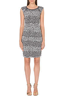 JUICY COUTURE Cheetah knitted dress