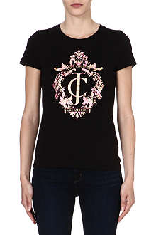 JUICY COUTURE Ornate print t-shirt