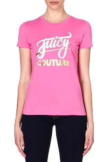 JUICY COUTURE Stud embellished t-shirt