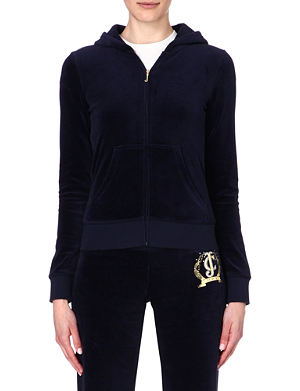 JUICY COUTURE Classic velour hoody