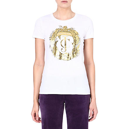 JUICY COUTURE Leaf t-shirt (Angel