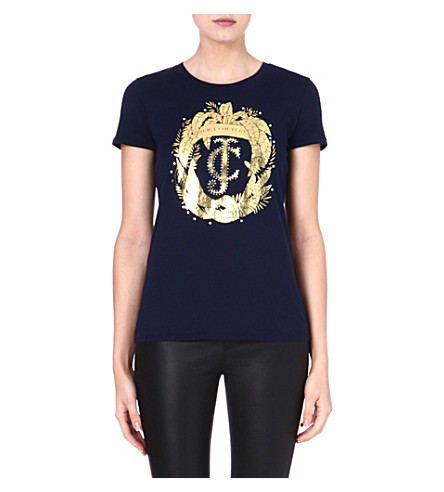 JUICY COUTURE Leaf t-shirt (Regal