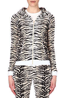 JUICY COUTURE Amazon tiger velour hoody