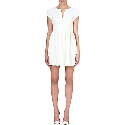 JUICY COUTURE Brocade split-neck dress (Angel