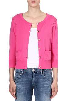 JUICY COUTURE Pointelle-detail cardigan