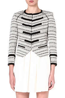 JUICY COUTURE Diamond Moroccan jacquard jacket
