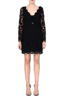 JUICY COUTURE Scallop lace dress