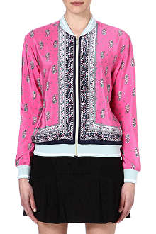 JUICY COUTURE Paisley bomber jacket