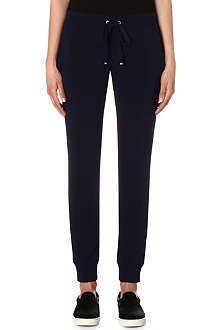 JUICY COUTURE Skinny stretch-jersey jogging bottoms