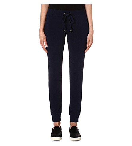 JUICY COUTURE Skinny stretch-jersey jogging bottoms (Regal