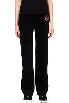 JUICY COUTURE Cotton-blend jogging bottoms