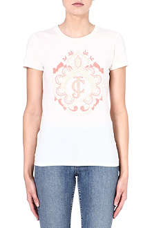 JUICY COUTURE Printed cotton t-shirt
