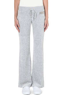 JUICY COUTURE Bootcut velour trousers