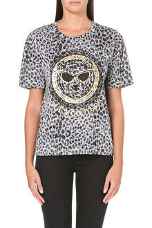 JUICY COUTURE Leopard frame t-shirt
