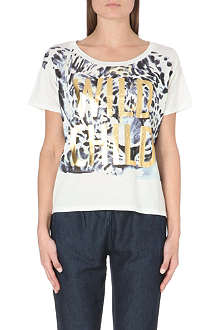JUICY COUTURE Graphic leopard t-shirt