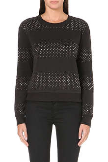 JUICY COUTURE Ombre studded sweater