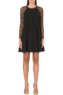 JUICY COUTURE Lace sleeves mini dress