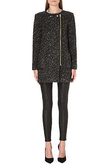 JUICY COUTURE Loose-fit knitted coat