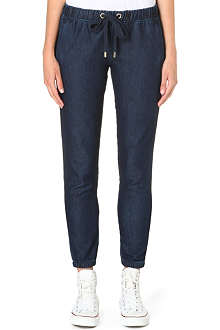 JUICY COUTURE Indigo jogging bottoms