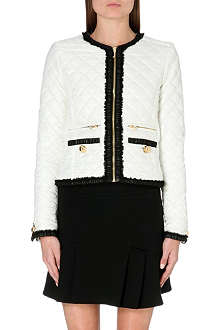JUICY COUTURE Quilted zip front jacket