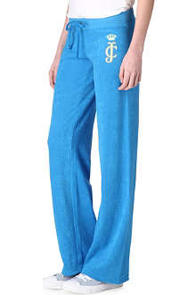 JUICY COUTURE Viva Palm terry jogging bottoms