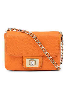 JUICY COUTURE Mini Gretchen leather shoulder bag