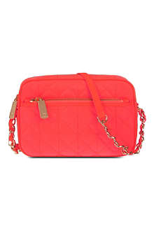 JUICY COUTURE Quilted cross-body pouch bag