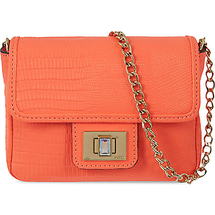 JUICY COUTURE Sierra sorbet mini cross-body bag (Tangerine