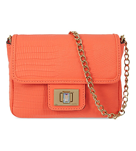 JUICY COUTURE Sierra sorbet mini cross-body bag (Tangerine