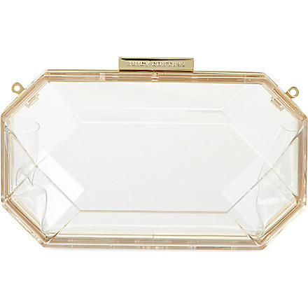 JUICY COUTURE Gem Minadiere clutch (Clear