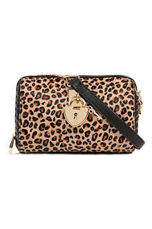 JUICY COUTURE Leopard print cross-body bag