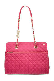 JUICY COUTURE Larchment quilted shoulder bag