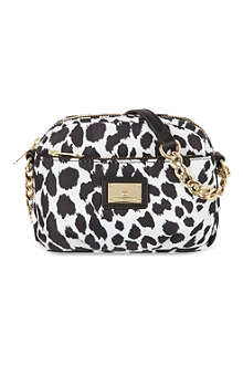 JUICY COUTURE Leopard print mini camera bag