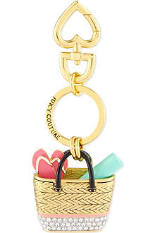 JUICY COUTURE Beach Bag keyring