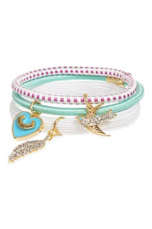 JUICY COUTURE Charm hair elastics