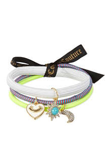 JUICY COUTURE Set of three hair elastics