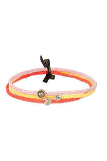JUICY COUTURE Set of three braided hairbands