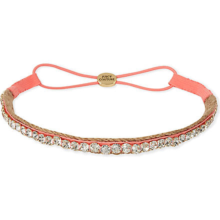 JUICY COUTURE Rhinestone headband (Firelit