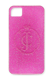 JUICY COUTURE Glitter iPhone 4 case