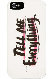 JUICY COUTURE Tell me everythng iPhone case