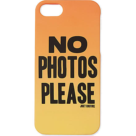 JUICY COUTURE No Photos iPhone case (Sunlit