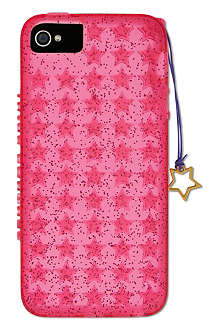 JUICY COUTURE Starburst jelly iPhone 5 case