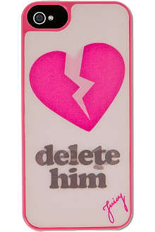 JUICY COUTURE Delete Him iPhone 5 case