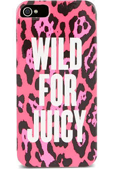 JUICY COUTURE Wild at Heart iPhone 5 case